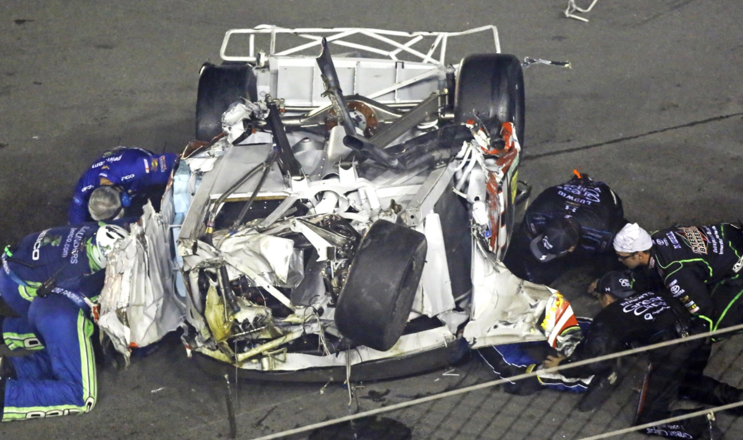 Almost $300,000 cost on NASCAR racing car accident 2017