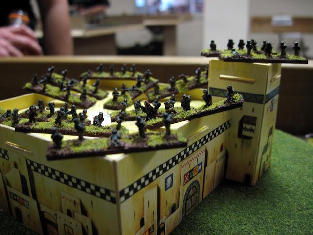 Karl's guardsmen, reporting for duty.