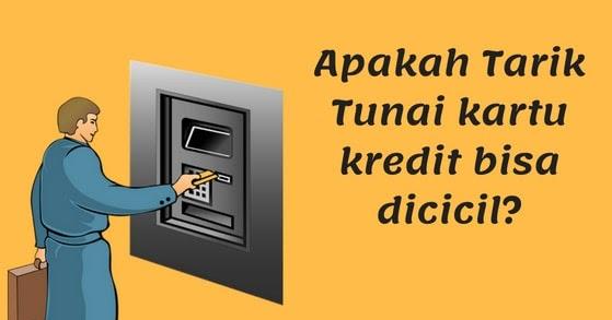 Apakah Tarik Tunai Kartu Kredit Bisa Dicicil Kartu Bank