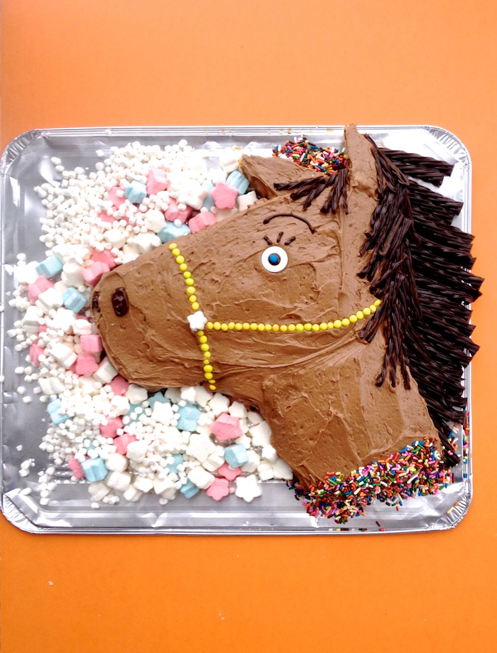 How To Make A D Horse Cake