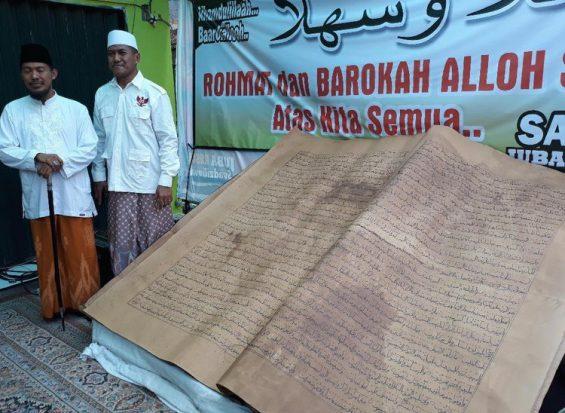 Dihadiahi Mushaf Quran Kuno, Prabowo: Ini Amanah Besar