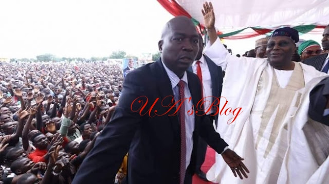 VIDEO: Mammoth crowd attend Atiku's presidential declaration in Adamawa