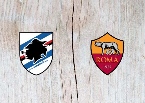 Sampdoria vs Roma Full Match & Highlights 6 April 2019