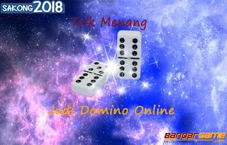 Trik Menang Main Judi Domino Online BandarGame.net