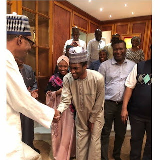 Yusuf Buhari Returns To The Country After Treatment Abroad Over Bike Accident (Photos)