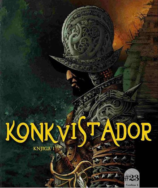 Konkvistador - Knjiga 1