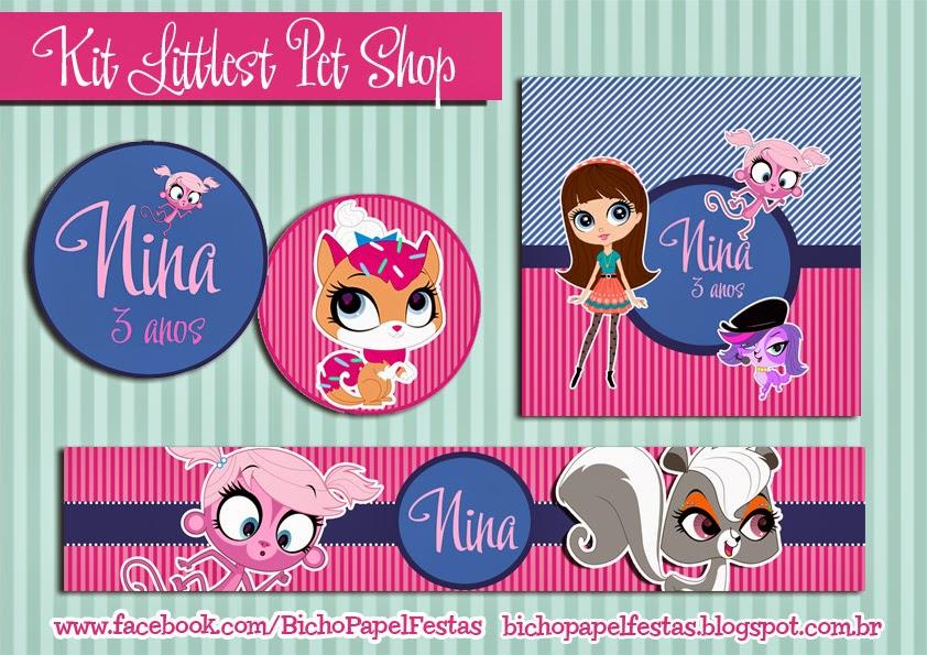 Kit Festa Littlest Pet Shop