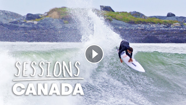 Andrew Mooney Hits The Road On Canada s East Coast In Search Of Perfect Hurricane Surf Sessions