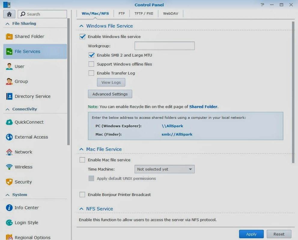 Synology Webdav Client Mac How to access files on Synology