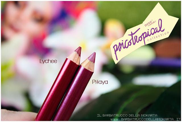 biopastello labbra lippencil psicotropical collection neve cosmetics nuova formula review