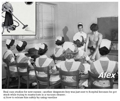 Embarrassing  Fun Retro hospital retro housewife retro