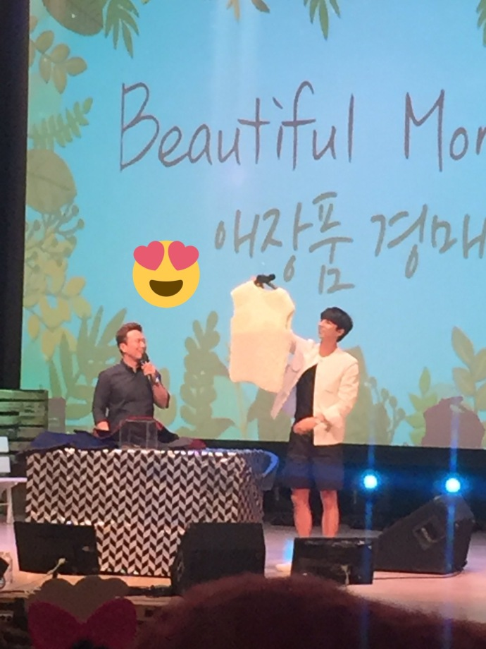 孔劉-20170527-首爾義賣會