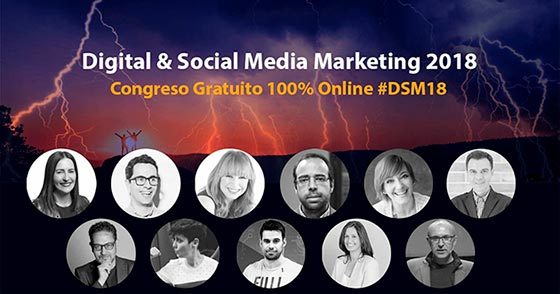 Congreso de marketing digital gratuito online