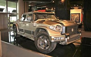 mobil anti perluru , Mobil tercanggih di dunia