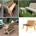 Convertibles Bench To Picnic Table Plans