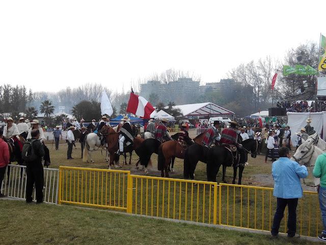Huasos en Fiestas patrias Santiago Chile