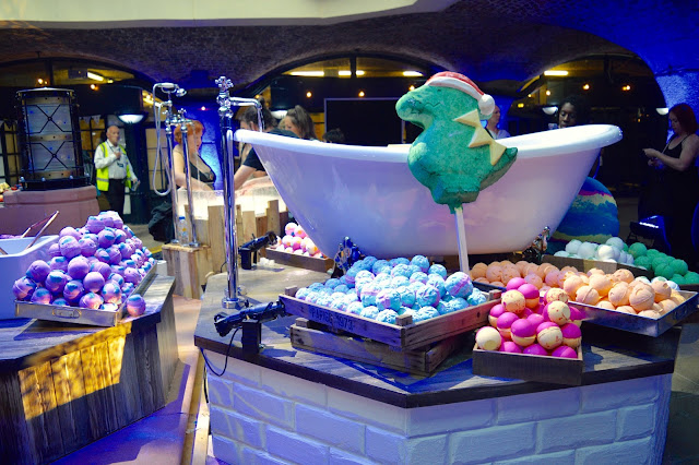 Lush Creative Showcase Christmas Collection