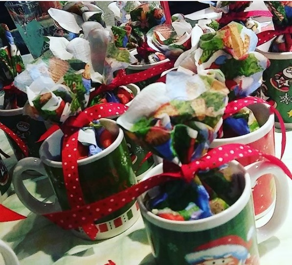 Christmas Mugs A beauty mom