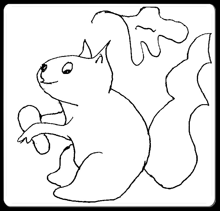 Christian Images In My Treasure Box: Squirrels And Leaves