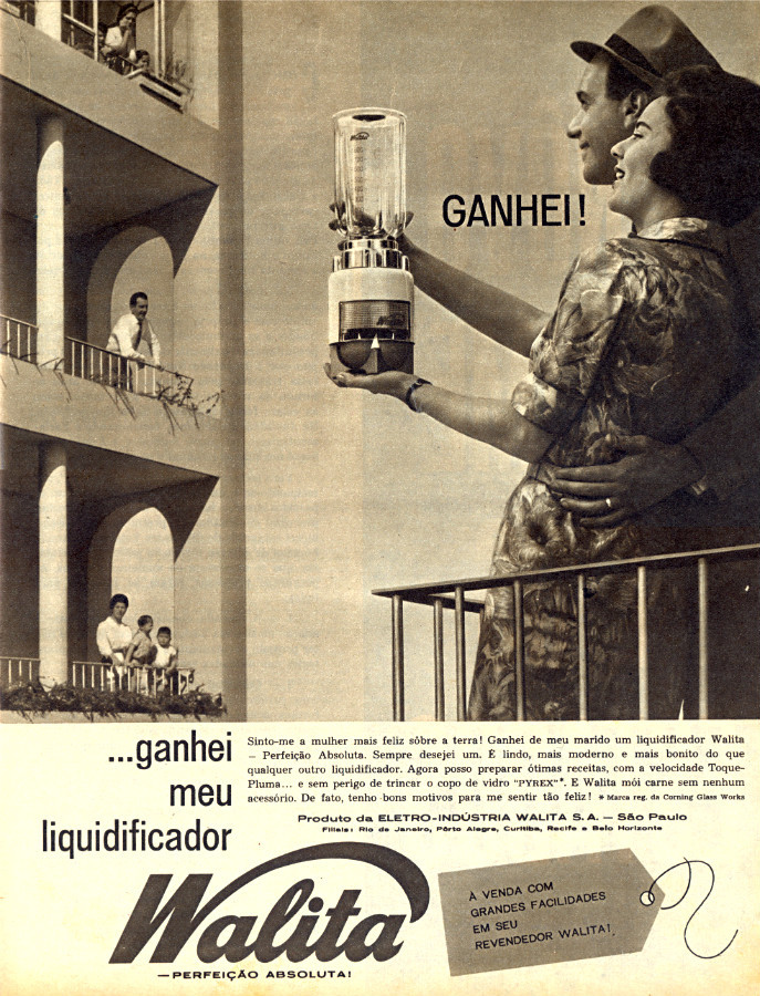 Campanha da década de 60 do liquidificador Walita