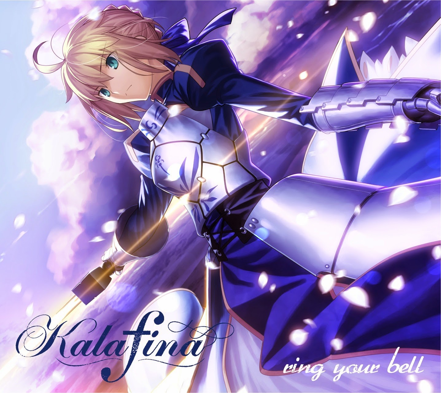 just me: Kalafina ~ ring your bell - anime / analog LE ...