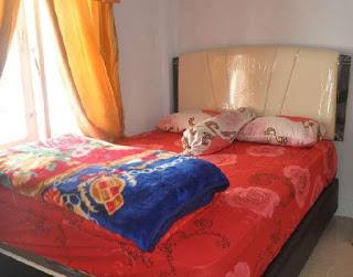 tempat tidur villa denna di dieng wonosobo