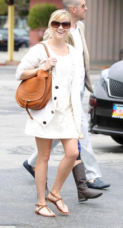 Chloe Marcie Saddle Shoulder Bag