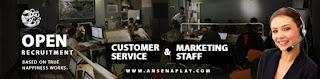 Lowongan Kerja Customer Service & Marketing di CV. Ansena Play - Surakarta