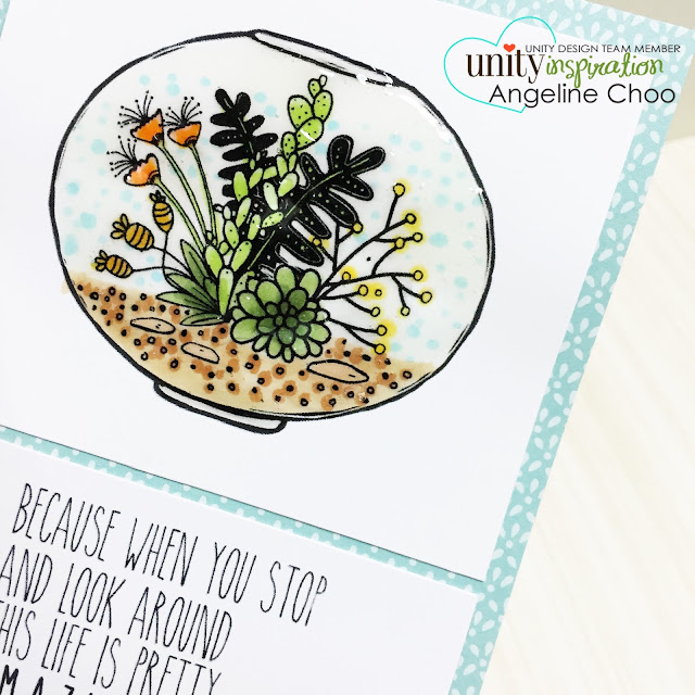 ScrappyScrappy: Frenzy of Unity Cards + [NEW VIDEOS] - Terrarium #scrappyscrappy #unitystampco #card #cardmaking #youtube #quicktipvideo #craft #papercraft #handmade #succulent