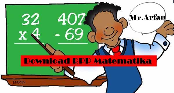 Contoh RPP Matematika Kurikulum 2013 Revisi Terbaru
