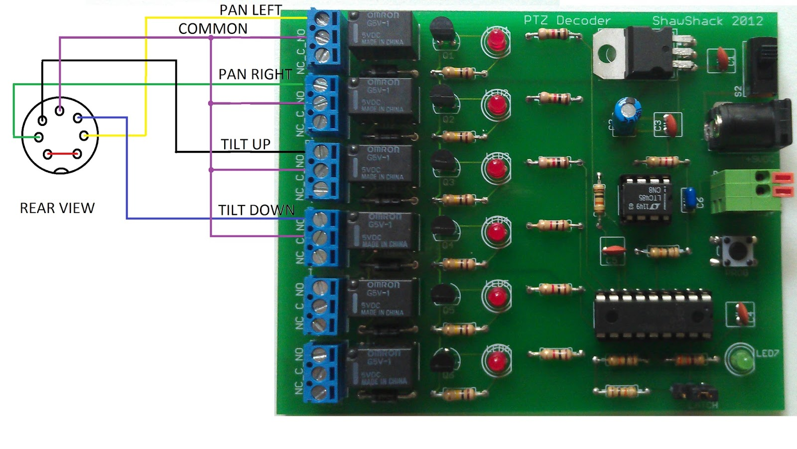 Wire Diagram For Rs 485 Ptz Cameras Wiring Will Be A Thing Usb Power Wires Rs485 Harness Elsavadorla Ethernet 232