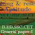 Teaching Research Aptitude NET JRF SLET B.ED SSC CET Paper I PDF
