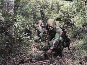 Garuda Militer Kopassus  Membebaskan Sandera di Papua