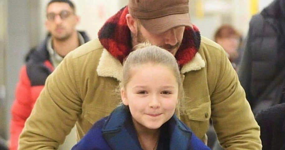 Harper Beckham Fashion Blog: February 2018: Harper at JFK