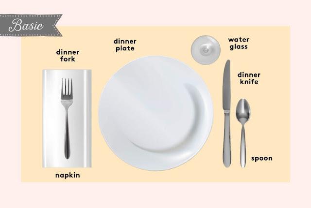 01. Cara Mengatur Meja Makan Dasar (Basic)