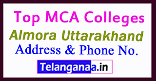 Top MCA Colleges in Almora Uttarakhand