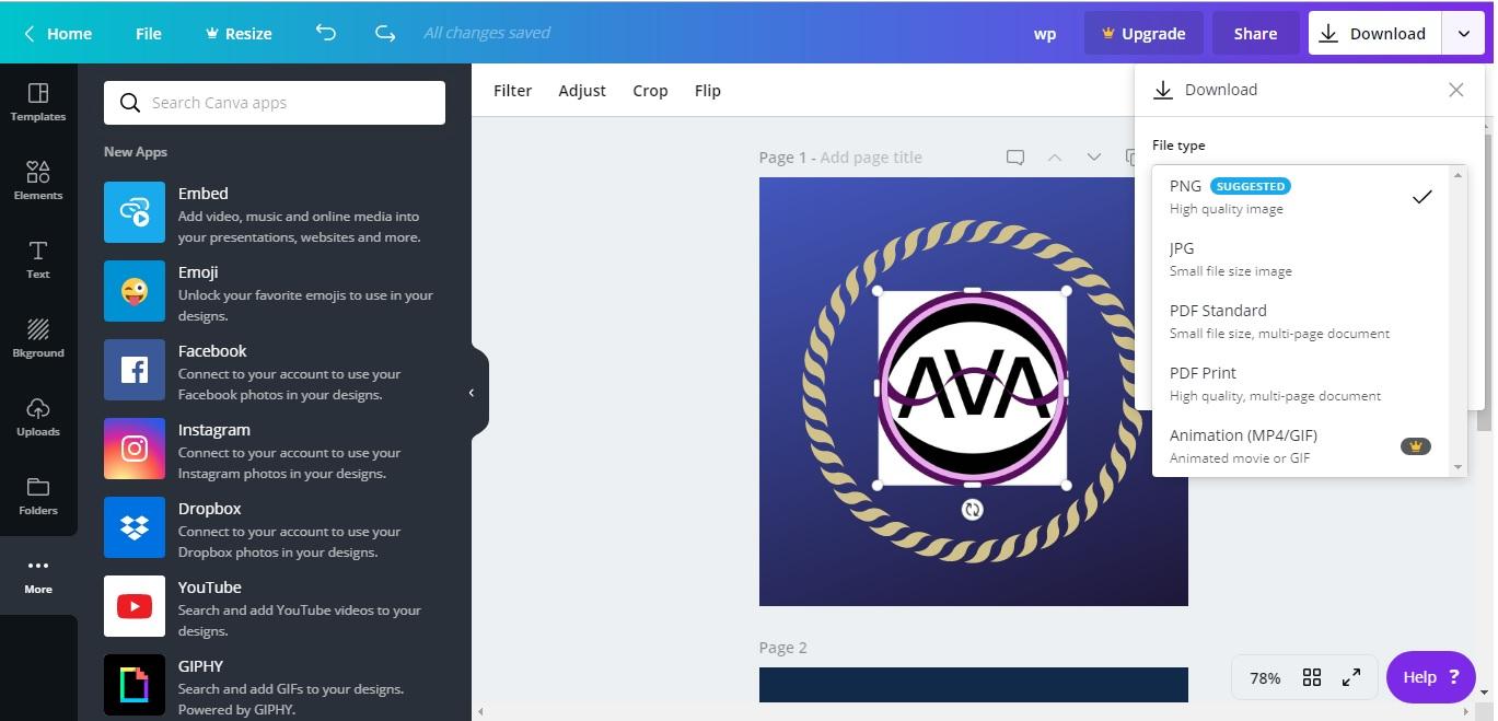 Best logo creating graphic design Websites - Technology