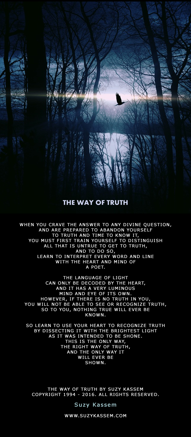 Truth Poem Suzy Kassem