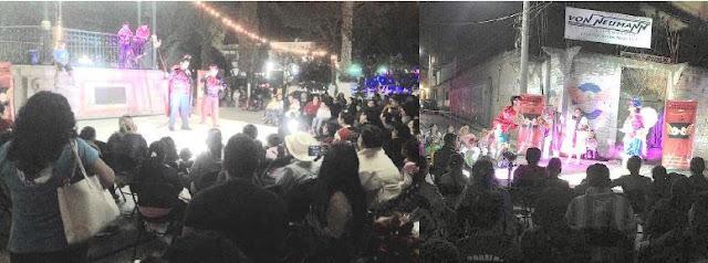 Presentan Grupos Teatrales pastorelas en Chilapa