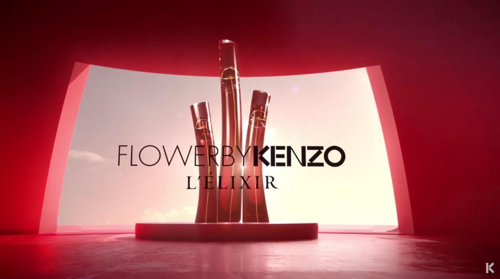 Nome modella Kenzo profumo Flower testimonial