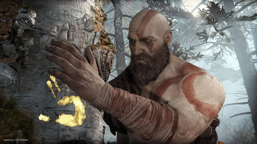 god of war 2018 ps4 kratos