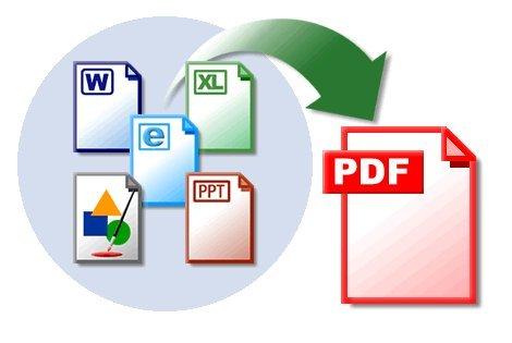 Crea un archivo PDF con tus documentos escaneados usando pdfcreator.