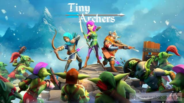 تحميل لعبة Tiny Archers مهكرة آخر اصدار apk