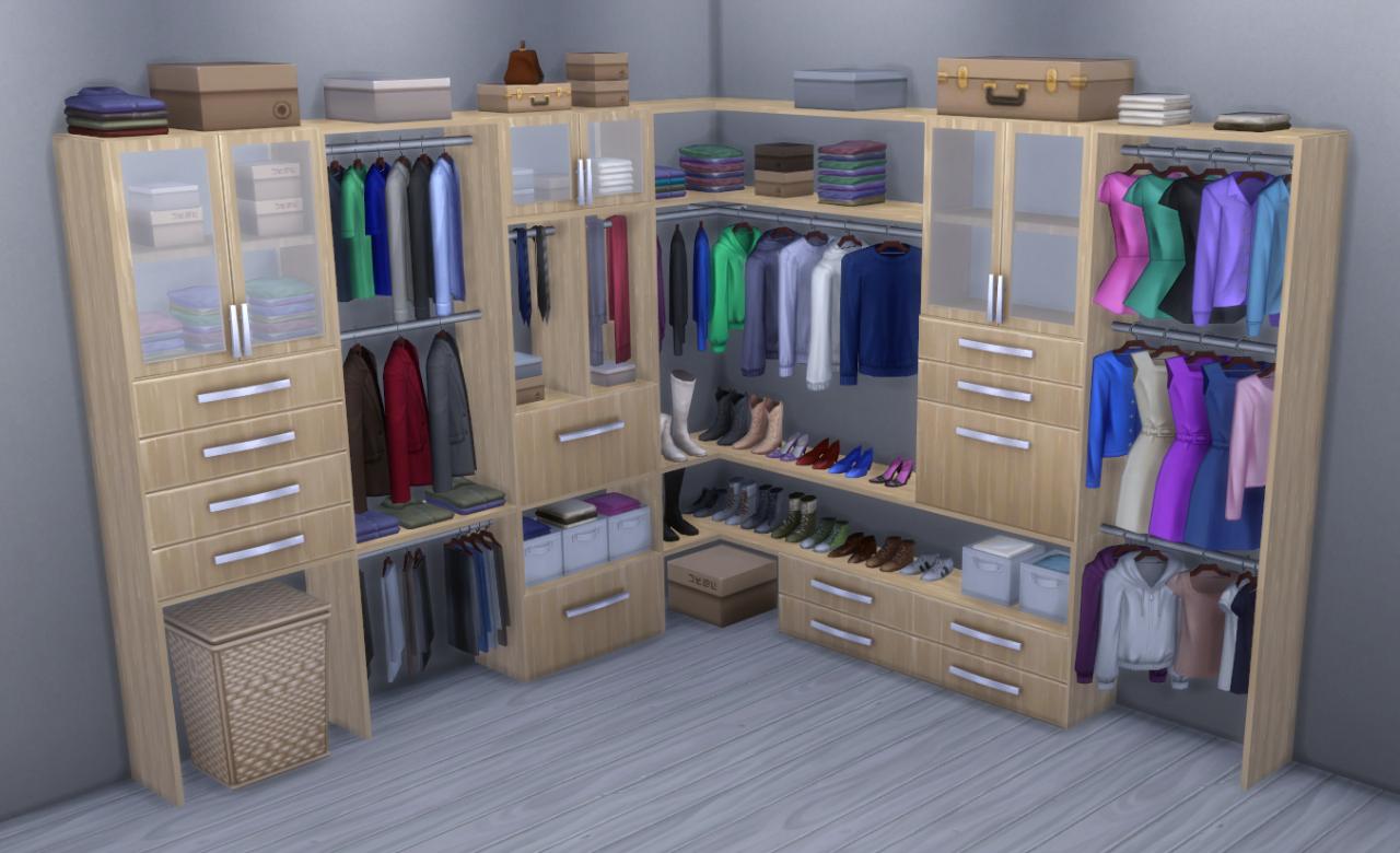 Alpha Beta Phong Modular Closet System By BrazenLotus