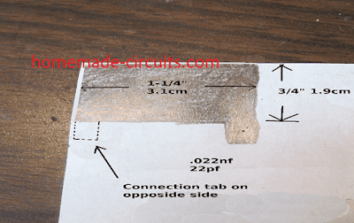 how to make a capacitor at home