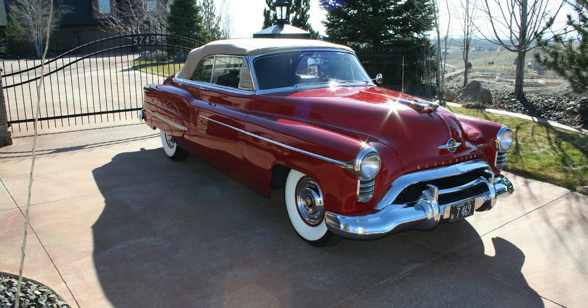 All american classic cars 1950 oldsmobile 98 deluxe 2 for 1950 oldsmobile 4 door