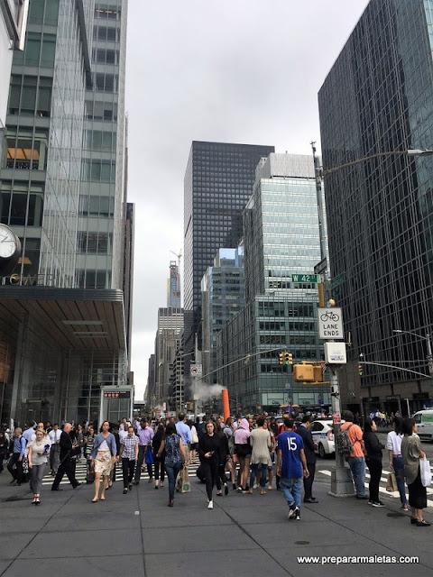 Cruce de calles Nueva York