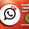 Download FMWhatsapp Apk Versi Terbaru Saat Ini Update 2018
