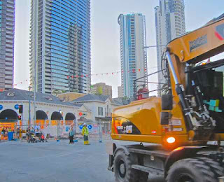 Light Rail Construction GPS 3105 Surfers Paradise Boulvard