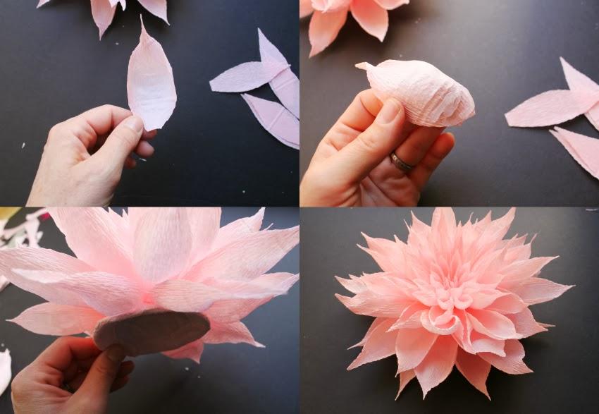 Crepe Paper Flower Headpieces By Featured Artist Tiffanie Turner